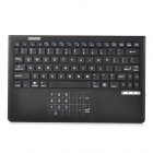 CWBT-31 V1 2.4GHz Thin Wireless Bluetooth V3.0 Keyboard w/ Touch Numeric Keypad - Black