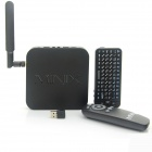 MINIX NEO X8-H Android 4.4.2 Google TV Player w/ 2GB RAM, 16GB ROM + Russian Air Mouse - Black