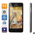"Sanying S1 MTK6572 Dual Core-Android 4.2 GSM Bar Telefon w/4.5 ""Screen, Quad-Band-, Wi-Fi, GPS - Schwarz"