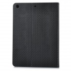 "IP51 Universal 9.7"" Flip-open PU + PC Case w/ Holder + Card Slot for IPAD AIR - Black + White"