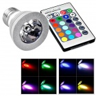 3W RGB 16 colori Magic LED FARETTO lampadina con telecomando