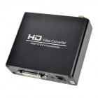 HDMI to DVI + Coaxial Audio Video Converter - Black