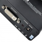 HDMI till DVI + koaxial Audio Video Converter - svart