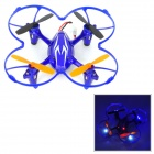 X40V 2.4GHz 4-CH Remote Control R/C Quadcopter w/ Gyro / 1.0MP Camera - Blue + White