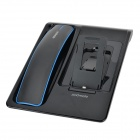 Padmate MD221 Wireless Bluetooth V3.0 Headset w/ Microphone + Charging Dock - Black + Blue