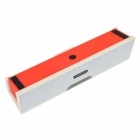 NiZHi Bluetooth v3.0 Speaker w/ Microphone / FM / TF / Micro USB / 3.5mm - White + Red