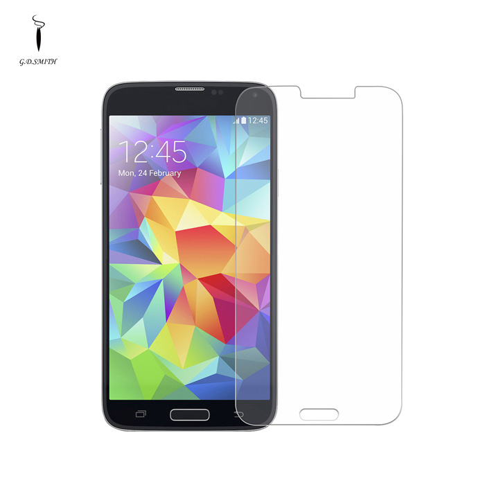 TITAN 0.3mm Premium Tempered Glass Screen Protector for Samsung Galaxy S5 велосипед challenger mission lux fs 26 черно красный 16