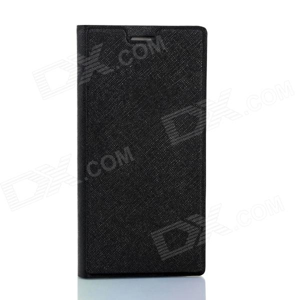 IOCEAN Flip-Open Protective PU Leather Case Cover for X7 - Black колонка mgom x7 black