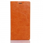 IOCEAN Flip-Open Protective PU Leather Case Cover for X7 - Orange