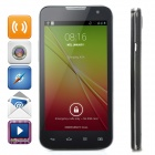 "Mixc G7106 MTK6572 Dual-Core Android 4.4 WCDMA Bar Phone w/ 4.3"" Screen, Wi-Fi, GPS - Black"