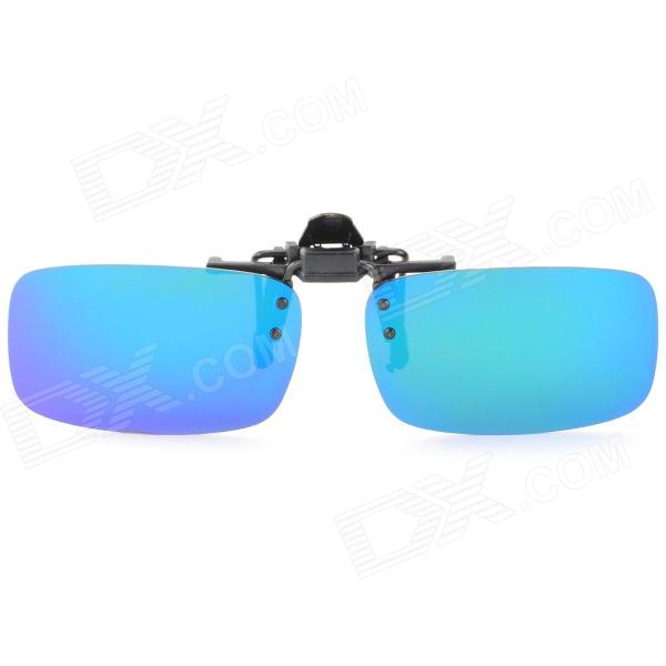 OREKA 208 Clip-on Polarized PC Lens Sports Sunglasses - Green REVO