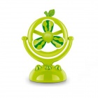 Watermelon Type USB Rechargeable Fan - Green