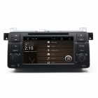 "7 ""Android 4.2 kapazitiver Schirm-Auto-DVD-Player w/1024x600 IPS, GPS, RDS, WLAN, Radio, AUX, BT für BMW E46"