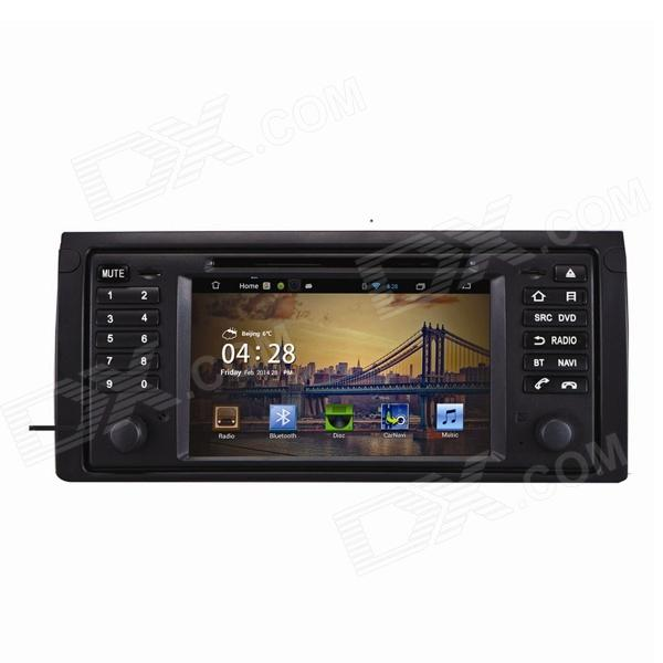 7 Android 4.2 Capacitive Screen Car DVD Player w/1024x600 IPS,GPS,RDS,WiFi,Radio,AUX,BT for BMW E39 joyous 1 6g dual core android 4 2 capacitive screen car dvd w radio gps rds bt wifi 3g