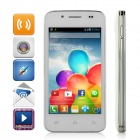 "WOOL Mini S5 SC7710 Android 4.1.2 WCDMA Bar Phone w/ 4.0"" Screen, Wi-Fi, GPS, and Bluetooth - White"