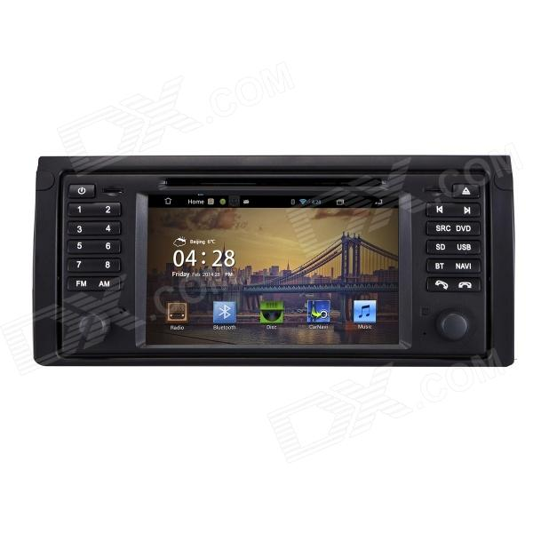 7 Android 4.2 Capacitive Screen Car DVD Player w/1024x600 IPS,GPS,RDS,WiFi,Radio,AUX,BT for BMW E53 joyous 1 6g dual core android 4 2 capacitive screen car dvd w radio gps rds bt wifi 3g