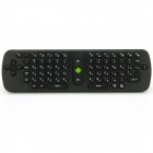 Measy RC11 2.4GHz Wireless 78-Key Keyboard Air Mouse - Black (Russian / 3 x AAA)