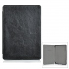 "Retro Protective PU Case for 6"" Amazon Kindle 4 / 5 - Black"