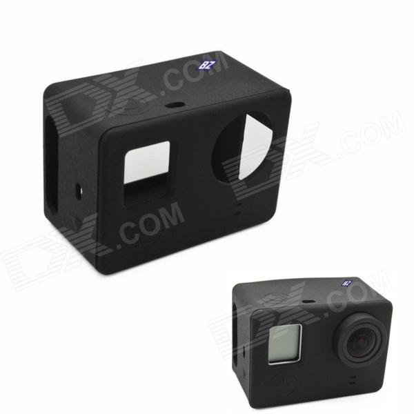 BZ BZ131 Protective Silicone Case for GoPro Hero 3+ / 3 / SJ4000 - Black