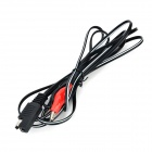 10W Solar Powered Auto Car Charger Panel - Black (12~24V)