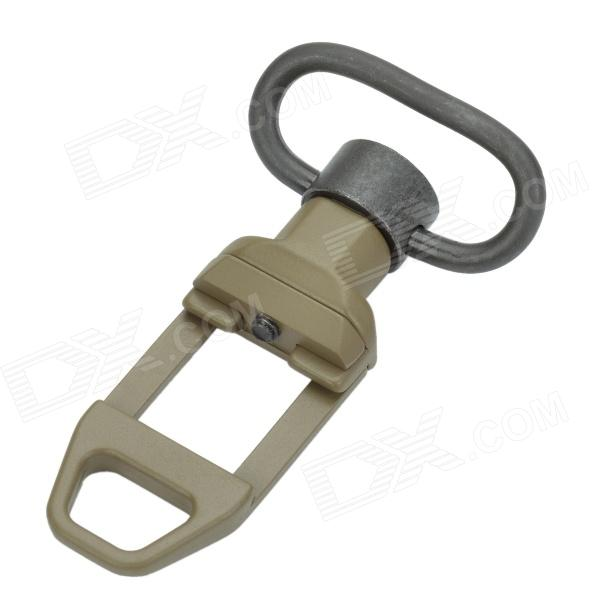 Aluminum Alloy 2S Shape Sling Swivel Mount - Army Green seac sub sting spear gun with sling aluminum finish