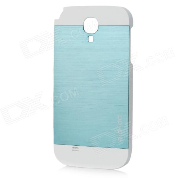 ppyple Protective Aluminum Alloy + PC Back Case for Samsung i9500 - White + Green