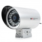 KARE C4644PC Waterproof SHARP CCTV Camera w/ 36-IR-LED - Silver (DC 12V)
