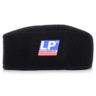 LP LP769 Sports Synthetic Rubber + Stretch Nylon Patella Knee Pad Brace Support - Black