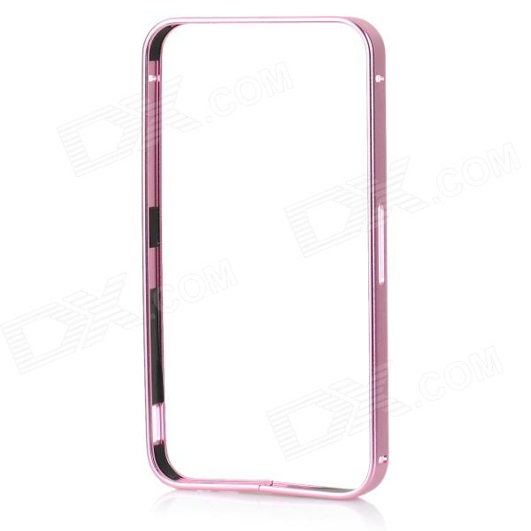 Mini Protective Aluminum Alloy Bumper Frame for IPHONE 4 / 4S - Pink