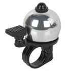 Ball Shaped Cycling Bike Bicycle Aluminum Alloy Ring Bell - Silver