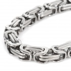 SHIYING SL0018 Men's Stylish 316L Stainless Steel Chain Bracelet - Silver
