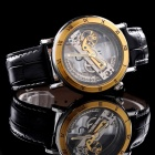 Mce 01-0060226 Men's Self-winding Mechanical Analog Wristwatch - Black + Gold