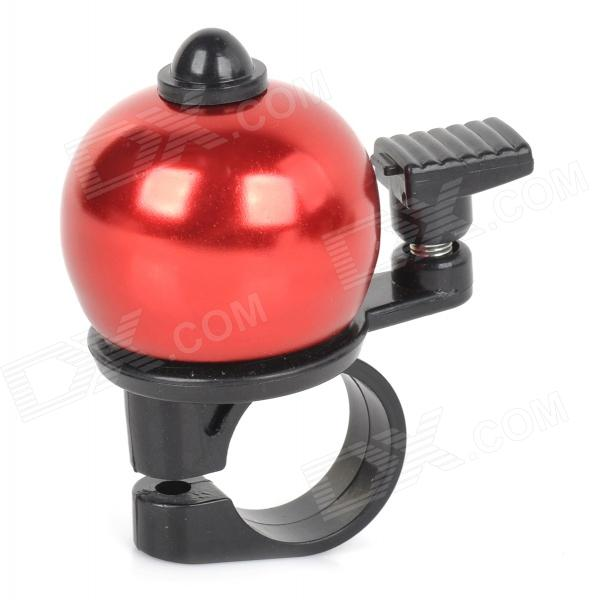 Ball Shaped Cycling Bike Bicycle Aluminum Alloy Ring Bell - Red