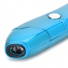 2.4GHz USB 3.0 Wireless Laser Pen Mouse w/ USB Receiver - Light Blue