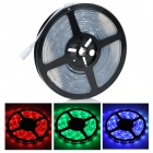 Waterproof 60W 3300lm 150-5050 SMD LED RGB 133-Mode Light Strip - White + Black (5m / AC 100~240V)