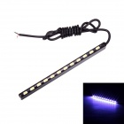 Merdia 7W 45lm 6000K 12-SMD 5630 LED White Light Car Light Strip (14cm / 12V)