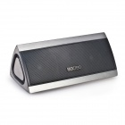 MOCREO MOSOUND BASS Portable Wireless Bluetooth Stereo Speaker w/ 3D Surround Sound - Silver