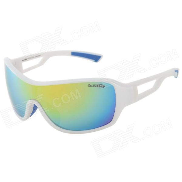 Kallo 99350 Outdoor Sports UV400 Protection Polarized Sunglasses - White + Red REVO 19 70 genuine wear повседневные брюки