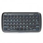 PK-001 2-in-1-54-Tasten-Keyboard Bluetooth V3.0 + 4000mAh Li-Polymer-Power-Bank für Smartphone - Schwarz