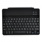 KB658 78-key BluetoothV3.0 Aluminum Alloy Keyboard Cover w/ Auto Sleep for IPAD AIR - Black + Silver