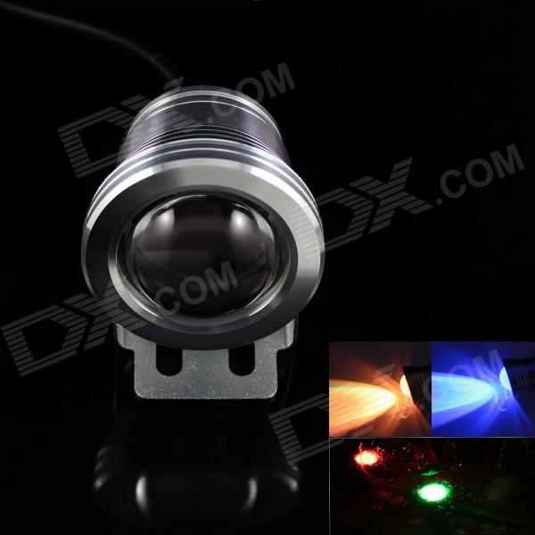 KINFIRE IP66 9W 680lm COB RGB Light Project Lamp w/ Remote Controller - Silver (DC 12V)