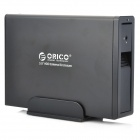 "ORICO 7618US3 1-Bay 3.5"" USB 3.0 SATA HDD Drives External Enclosure - Black (Max. 4TB)"