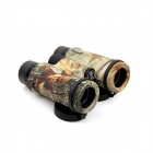 MOBO 6.5X 32mm Waterproof Military Camouflage Large Eyepiece Binoculars - Maple Camouflage