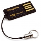 Kingston FCR-MRG2 G2 USB 2.0 MicroSDHC Flash Memory Card Reader - черный