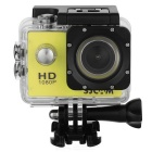 "SJ4000 1.5"" TFT 12.0 MP 2/3 CMOS 1080P Full HD Outdoor Sports Digital Video Camera - Yellow + Black"