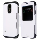 Hotsale Professional PC + TPU Smart Case for Samsung Galaxy S5 - White