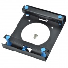 "CHEERLINK Anti-Shock Stainless Steel Holder for 3.5"" HDD - Black"