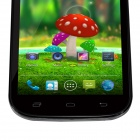 "9006 MTK6582 Quad-Core Android 4.2.2 WCDMA Bar Phone w/ 5.0"" QHD, 4GB ROM, Wi-Fi, GPS - Black"
