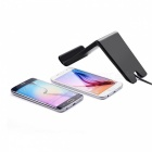 Itian A6 3-Coils Multi-function Qi Standard Wireless Charger for Tablet PC / Mobile Phone - Black