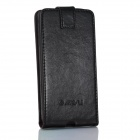 JIAYU Top-Flip Open Protective PU Leather Case Cover for G3 - Black